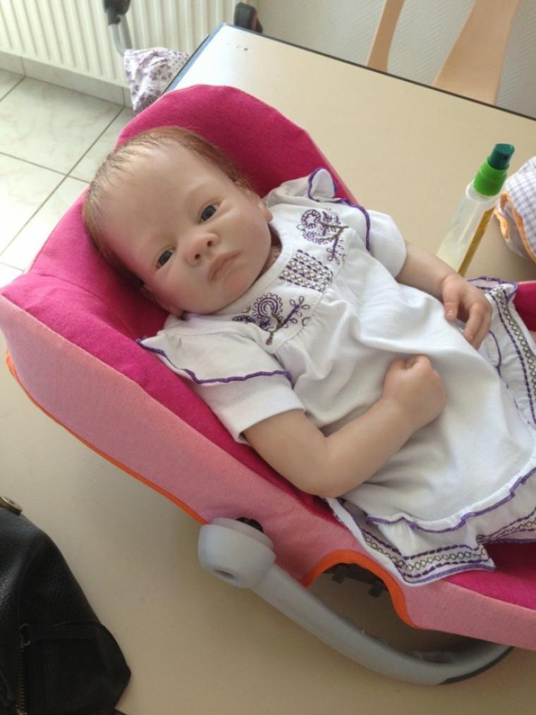 Sophie très beau bébé Reborn à été adopté