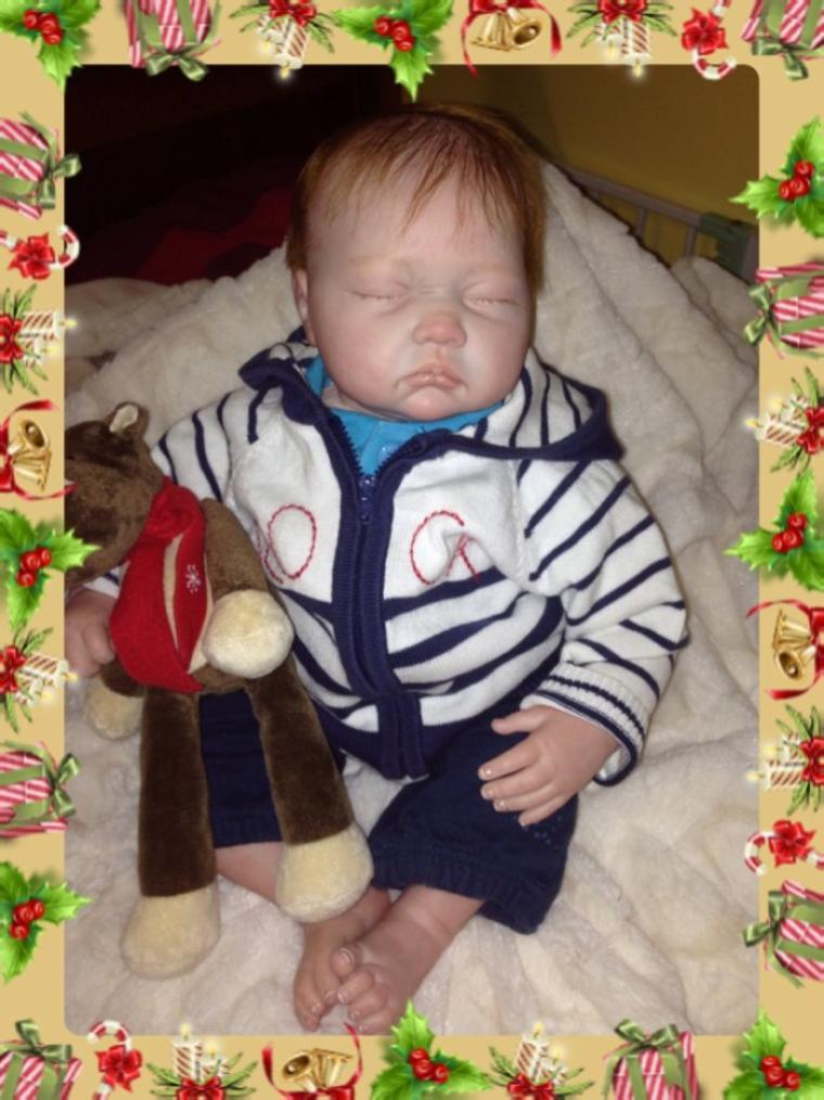 Très beau bébé Marius né le 19/11/2013 et pèse 2,200kg mesure 50 cm à été adopté .