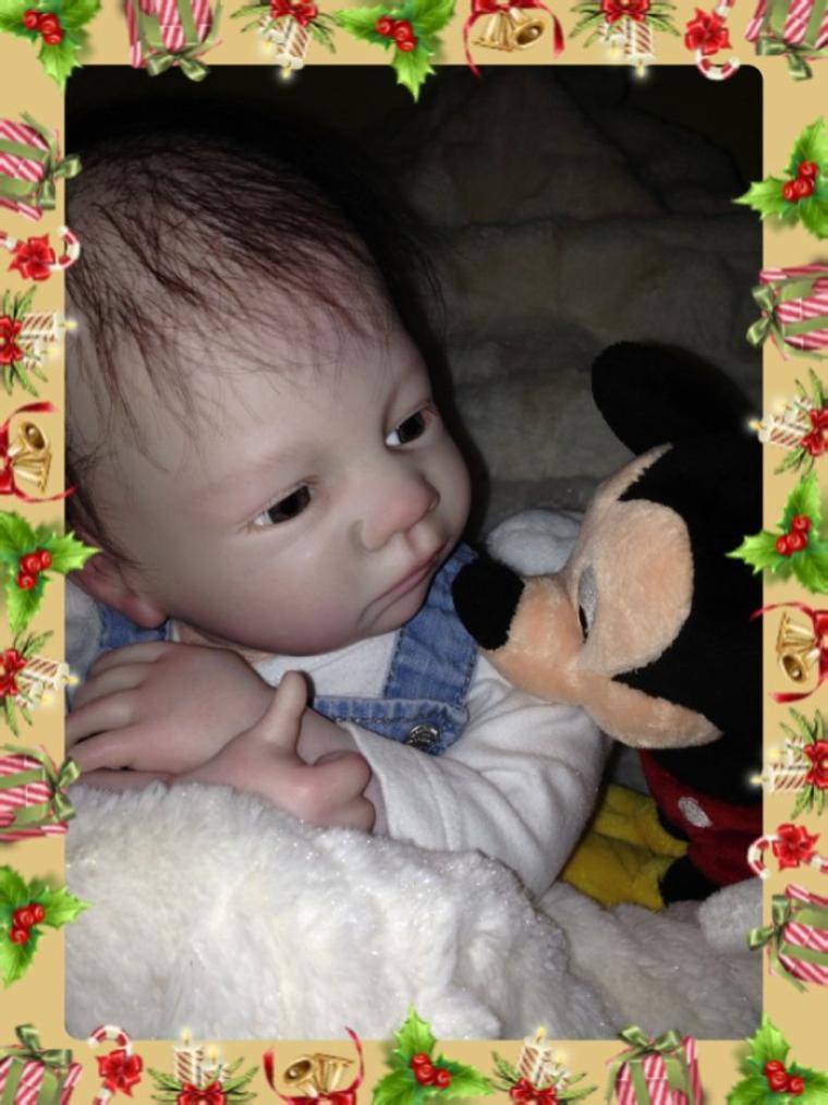 Sophia très beau bébé Reborn de 2,00 kg environ née le 20/11/2013 à été adoptée