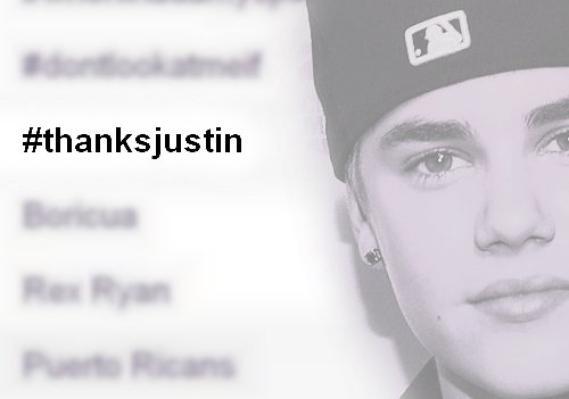 LoveBieberPhotos 381   ( #ThanksJustin était en TT mondial sur twitter. Dis-moi ce que toi tu dirais à Justin si tu le rencontrais. ? )