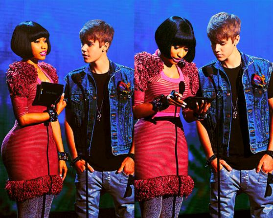 LoveBieberPhotos 420    (Justin et Nicki Minaj. )