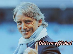 Manchester City - l'Entraîneur : Roberto Mancini !