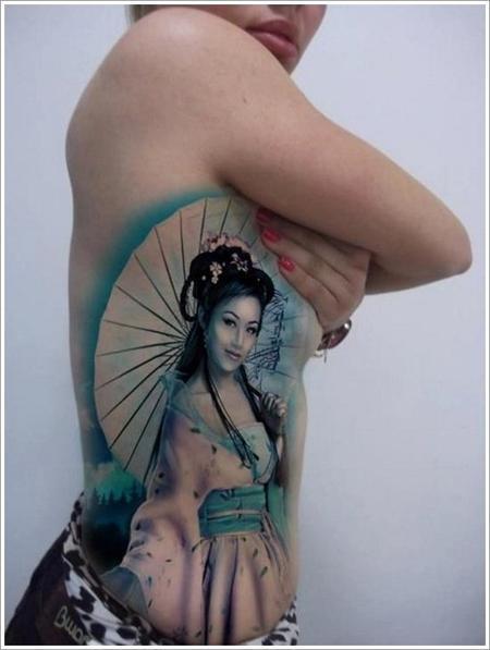 Série Geishas