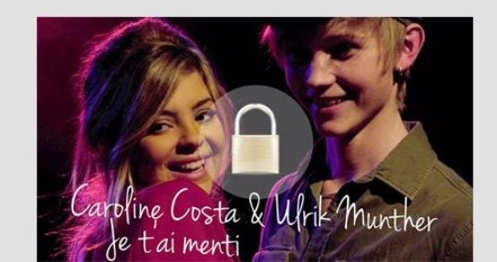 Caroline &&' Ulrik ; Je T'ai Mentii.