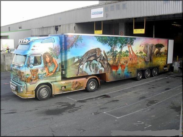 camion félin!!!