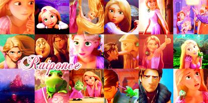 Disney Pictures Presents : Raiponce  :)