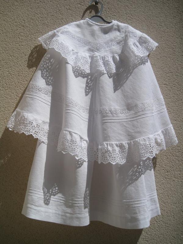 très bonne chine ce week end une robe de baptême