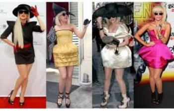 Look déjanté de Lady Gaga !