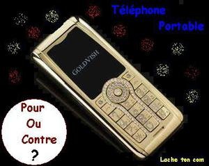 Le téléphone portable ?