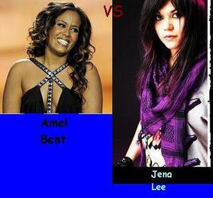 Amel Bent vs Jena Lee