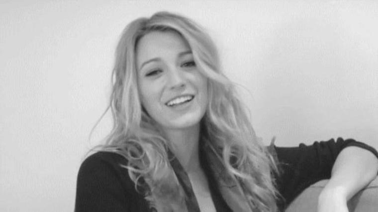 """She is free and hopened"" Blake Lively."