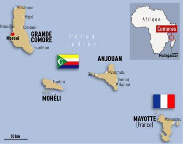L 'archipel des Comores
