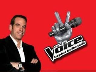 Garou dans : The Voice.