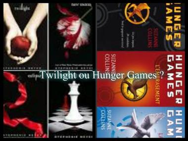 Twilight ou Hunger Games ?