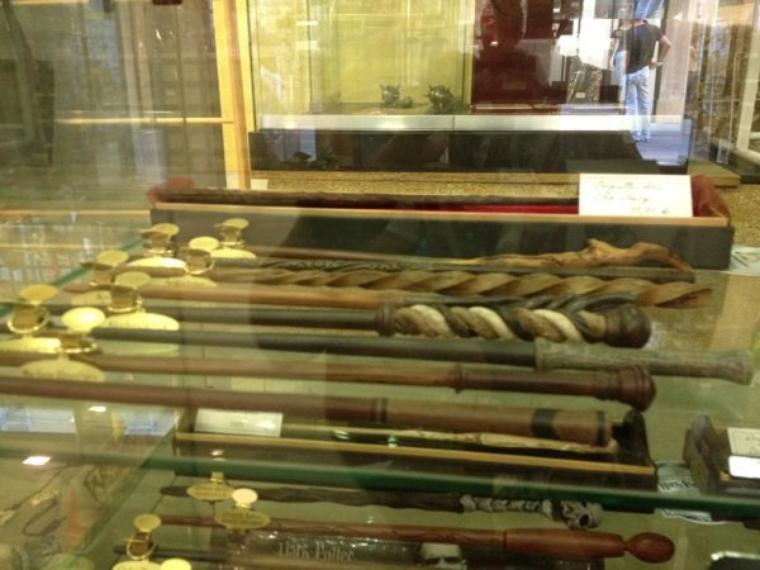 Photo des baguettes de la boutique que j'ai trouvé!