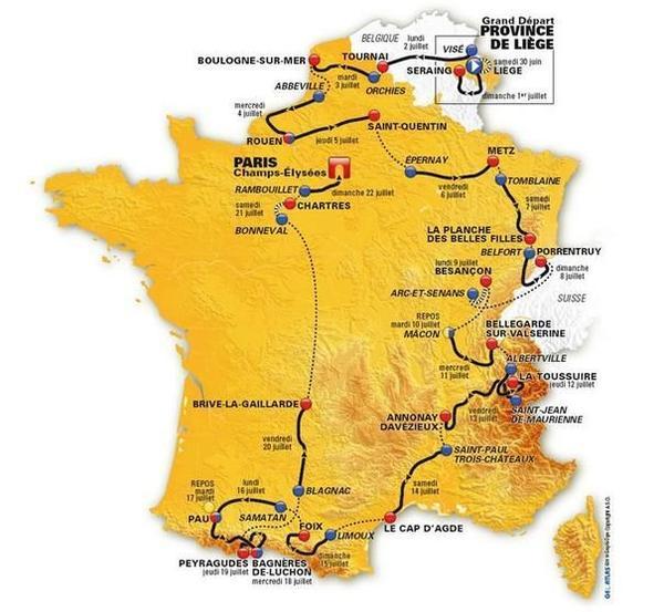 Le tour de France !!