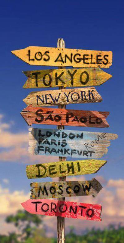 « Le voyage est ma maison. »