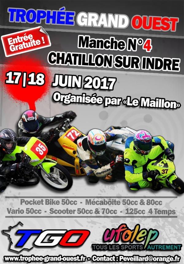 4ème Manche Trophée Grand Ouest 2017 Châtillon sur Indre (36700)