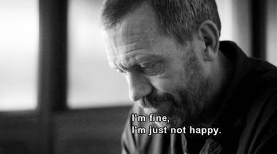 Les gens n'ont pas ce qu'ils méritent. Ils ont ce qu'ils ont. Et personne ne peut y faire quelque chose ... Dr House.