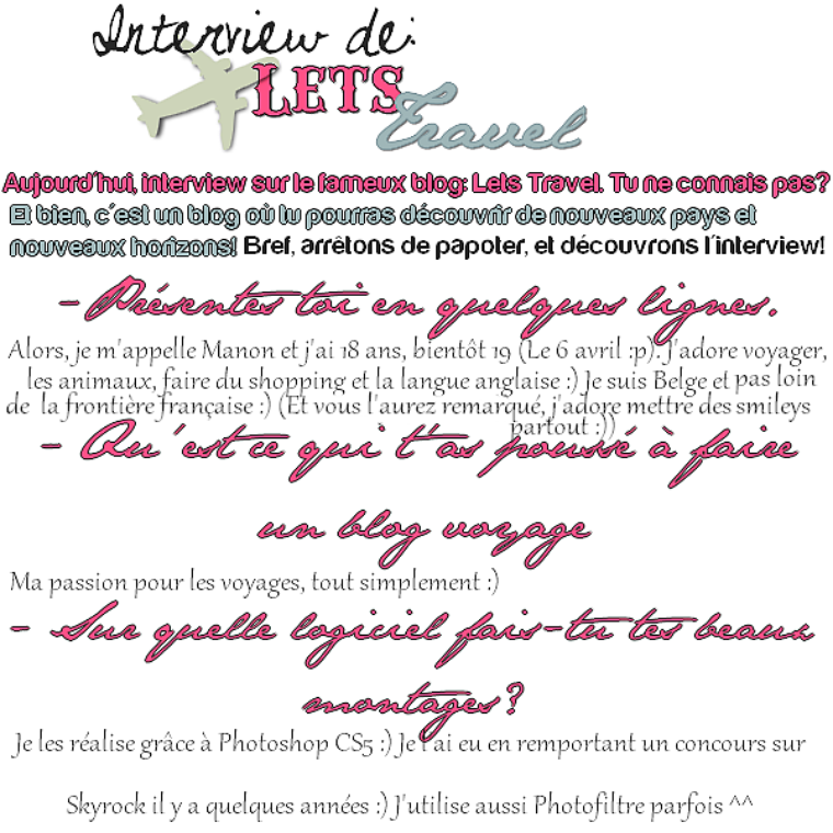 Interview et critique