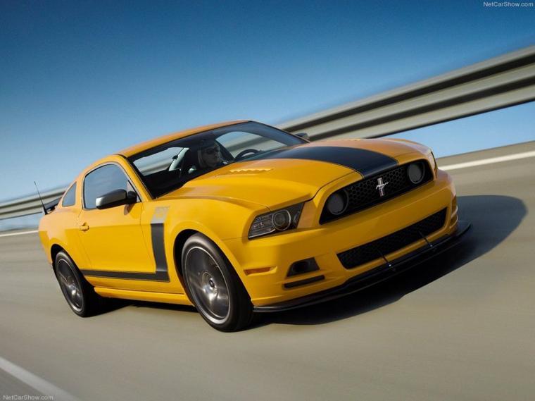 Mustang Boss 302 Laguna Seca 2013