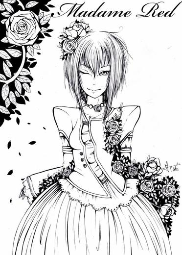 Fan art  Madame Red de Black butler