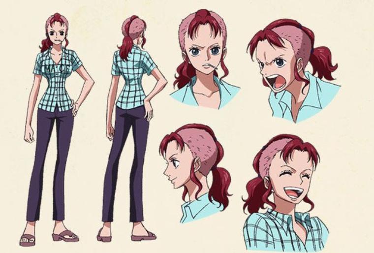 Nami Special Kokaishi no Namida to Nakama no Kizuna(character design) 7