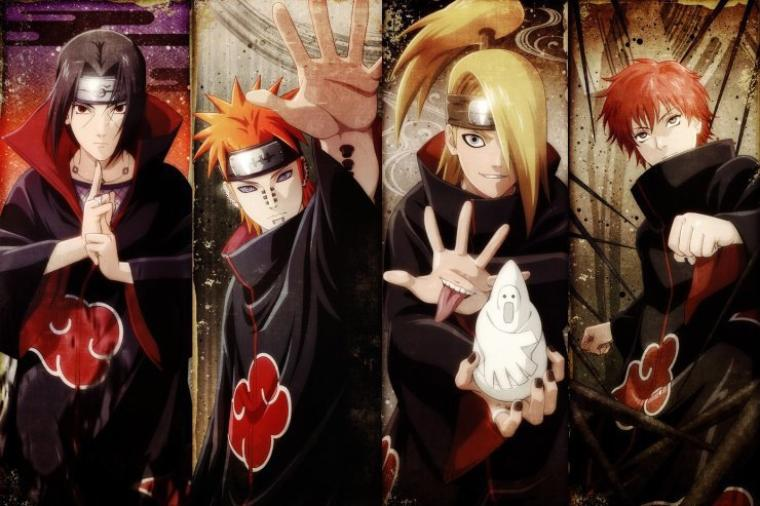 Les Beaux Gosses de l'Akatsuki !!!!!!