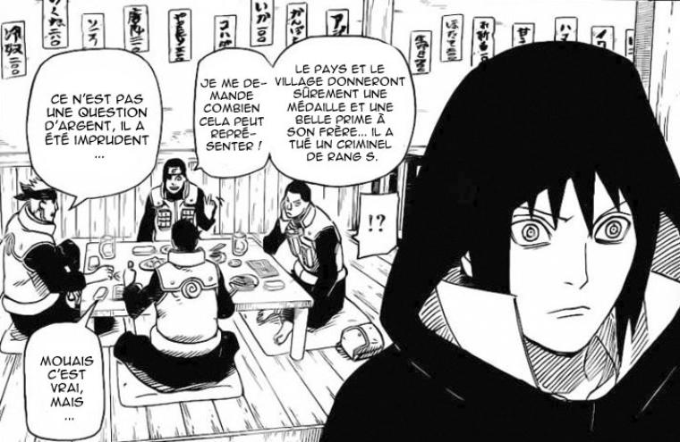 Marre que Sasuke passe pour le Gros Salaud qu'il n'est pas totalement !!