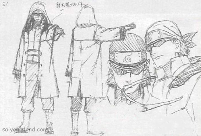 Naruto Movie 10 - The Last : Ino, Kiba, Shino sketch