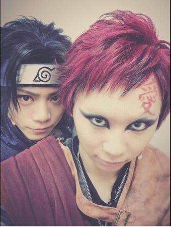 Ino-Shika-Cho ! Team 10 selfie time x)