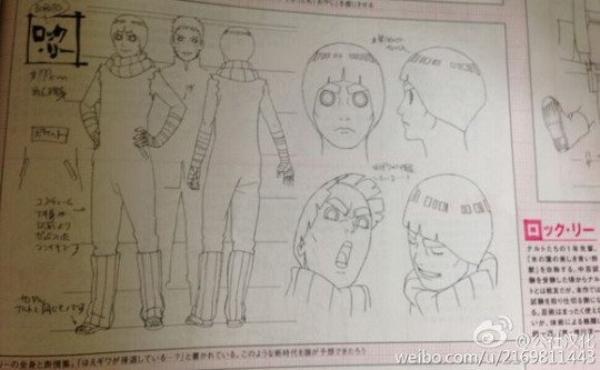 Boruto Movie - Model sheet (Shikamaru, Shikadai, Inojin,Sai, Tenten, Lee, Mitsuki)