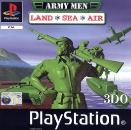 army men land sea , air