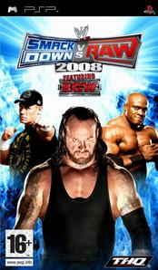 w smackdown vs raw 2008