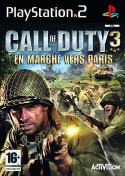call of duty 3 en marche vers paris