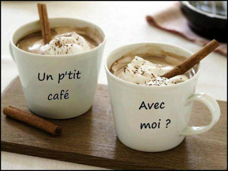 Bon week end  un ptit cafe♥