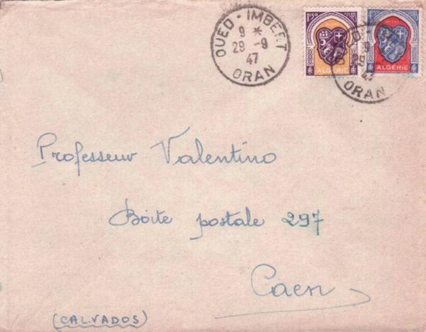 OUED IMBERT : Carte postale animée