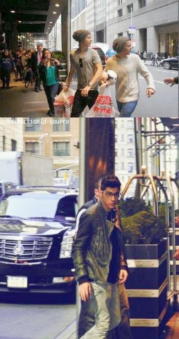 14/03/12 : Les 1D à Billboard / 15/03/12 : Les garçons dans les rues de N-Y. / 16/03/12 : Chez Elvis Duran.