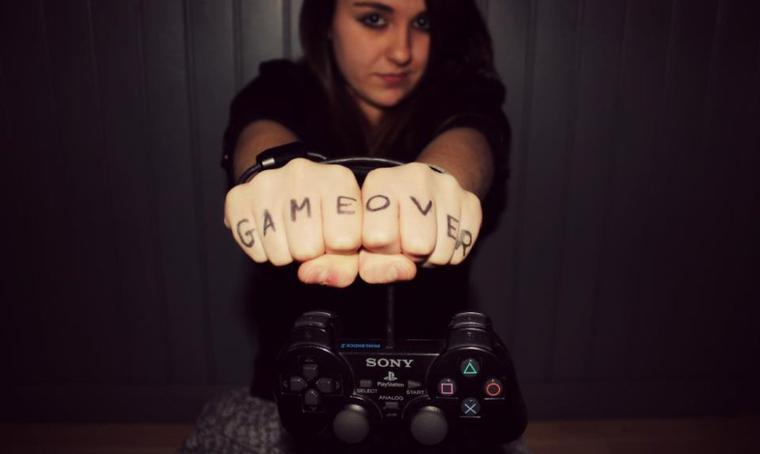 * game over !! <3*