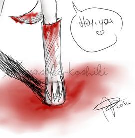 • Bloody •