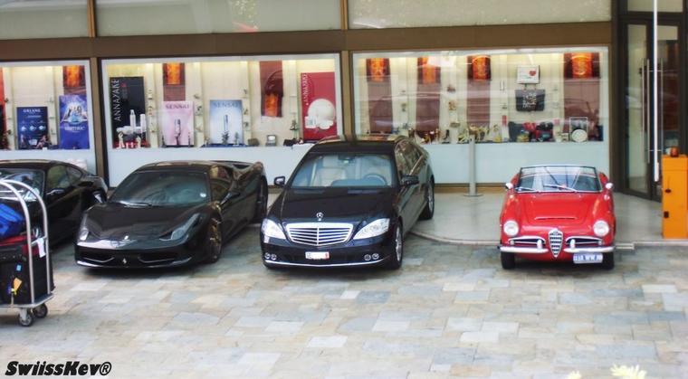 Ferrari + Mercedes + Alfa Romeo