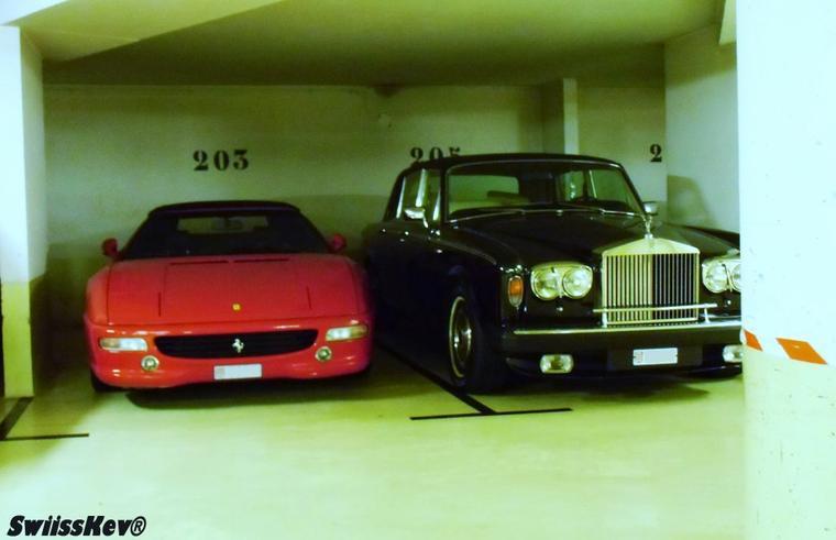 Ferrari + Rolls-Royce