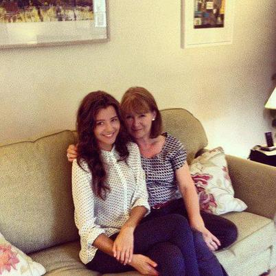 Eleanor et sa mère <3
