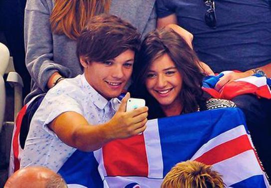 Louis et Eleanor aux J.O Meilleure couple du monde ;)