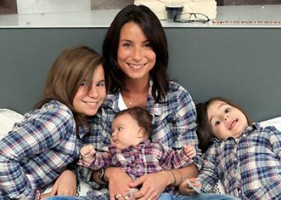 Jennifer et ses enfants