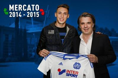 Monaco prête Ocampos à Marseille