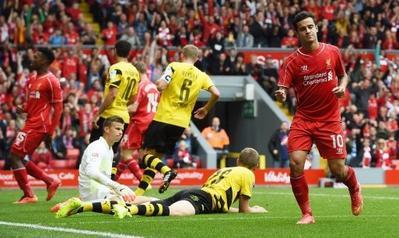 Coutinho à Liverpool jusqu'en 2020
