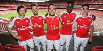 Arsenal dévoile son nouveau maillot domicile !