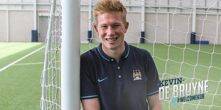 De Bruyne à Manchester City, c'est officiel