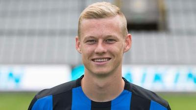 Nikola Storm prêté par le FC Bruges à Zulte Waregem